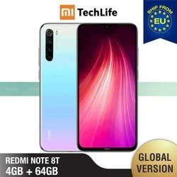 Перейти на Алиэкспресс и купить global version xiaomi redmi note 8t 64gb rom 4gb ram (brand new / sealed) note 8 t, note8t, note 8 smartphone mobile