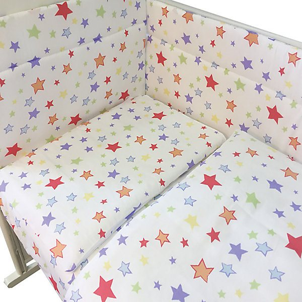 Cot set Edelweiss Milky way, 4 цена