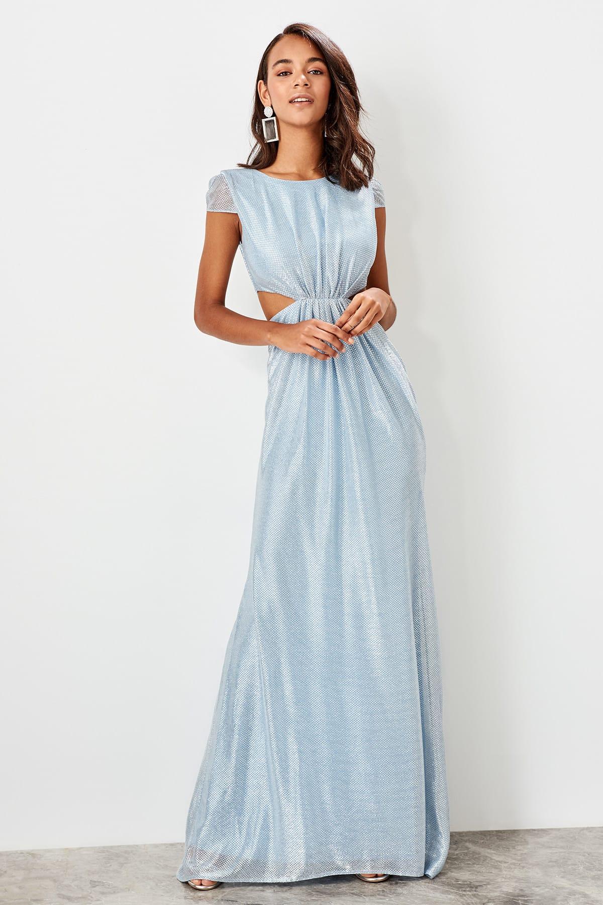 Trendyol Cut Out Detail Evening Dress TPRSS19UT0185