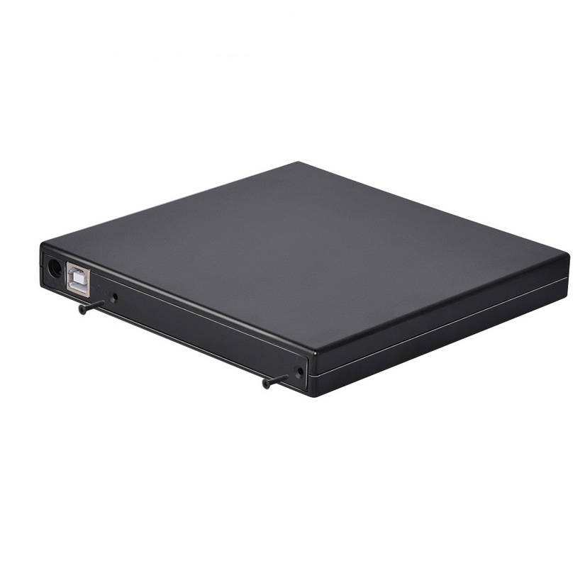 1PC 12.7mm USB 2.0 External DVD/CD-ROM Case For Laptop Desktop PC Optical Disk Drive SATA To SATA External DVD Enclosure