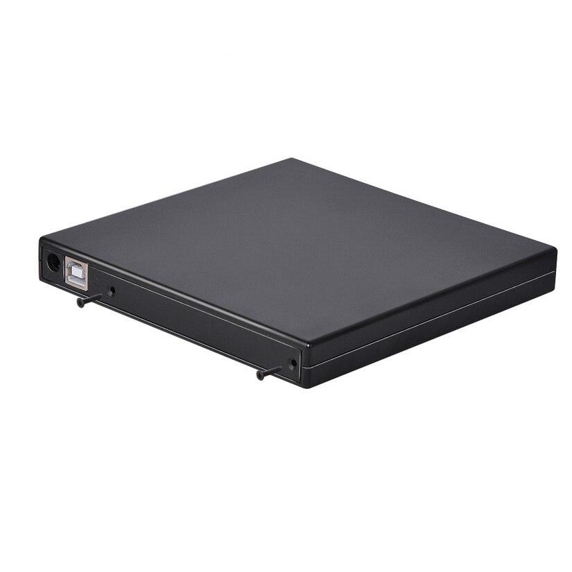 1PC Kphrtek 12.7mm USB 2.0 External DVD/CD-ROM Case For Laptop Desktop PC Optical Disk Drive SATA To SATA External DVD Enclosure