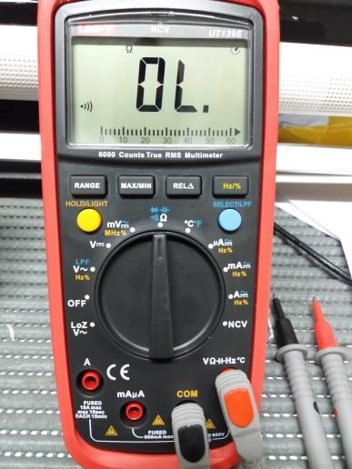 -- Multímetro Digital Temperatura