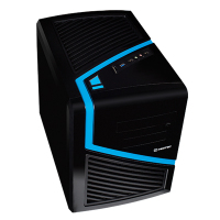 Cash Box Cube ATX Hiditec Dark Kube USB 3.0 Supports Plates Micro ATX/ITX No Source Feed