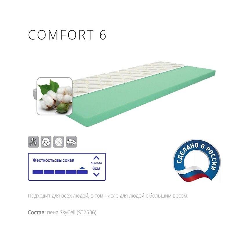 Матрас диванный - Топпер IQ Sleep COMFORT (Комфорт) 6, высота = 3 см., Delicatex