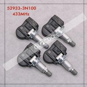 Датчик давления в шинах для 2013-2019 KIA CARENS IV (RP) датчик давления в шинах KIA TPMS 433MHz 52933-3N100 52933-2M650 52933-B1100