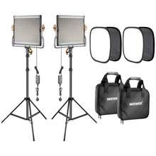 Neewer 480 светодиодный оссветильник ительный комплект для видеосъемки: