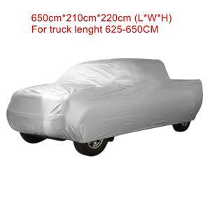 Image 5 - واقي غطاء سيارة داخلي UXCELL مقاوم للماء لشاحنة مضادة للمطر 6.5M 6.8M