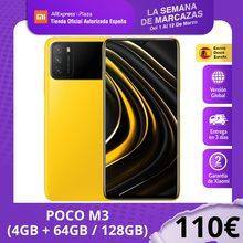 POCO M3 (64GB/128GB ROM con 4GB de RAM Qualcomm®Snapdragon™662 Android Nuevo) [Teléfono Móvil Versión mundial para España] pocom3