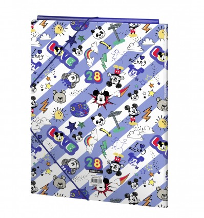 WALLET FOLIO 3 LAPELS MICKEY MOUSE