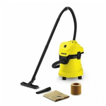 Bagged Vacuum Cleaner Karcher WD 3 17 L 1000W Yellow