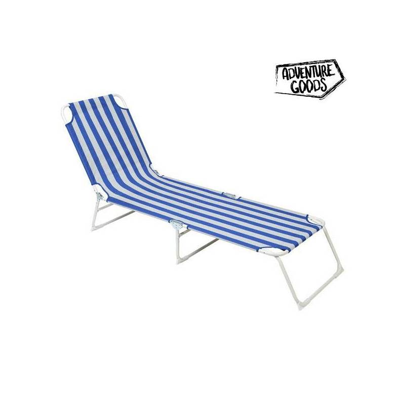 Lounger Adventure Goods 33616 (187x55x27 Cm) Blue White