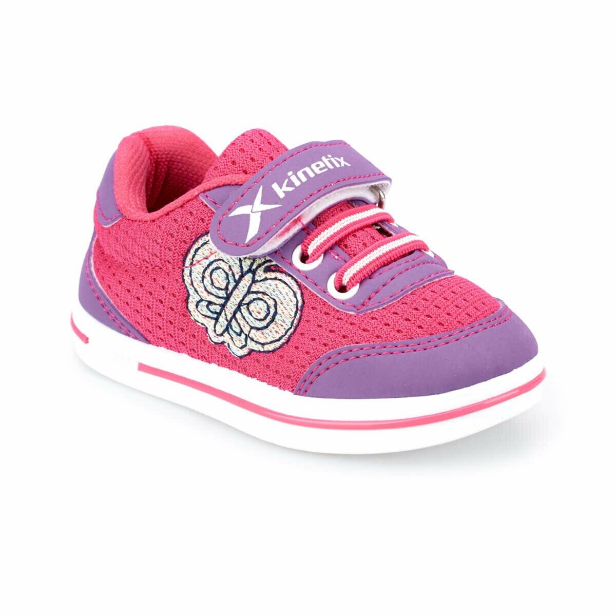 FLO CRANK Fuchsia Female Child Sneaker Shoes KINETIX