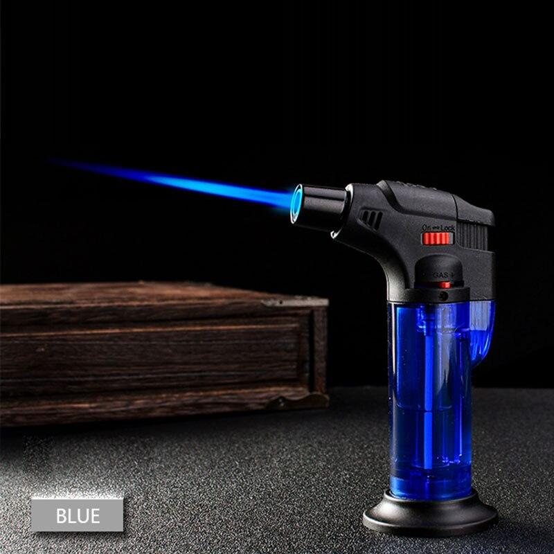 BBQ Kitchen Welding Torch Lighter Butane Jet Gas Lighter Turbo Portable Spray Gun 1300 C Windproof Cigar Pipe Lighter Outdoor