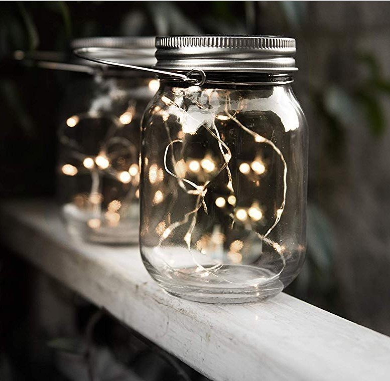Floor Lamp Led Solar Jar