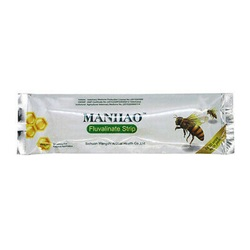 Wangshi Manhao 80 strip.Fluvalinate.Varroa.Пчелы.Пчеловодство.Полоски от Варроа.Товары для пчеловодства.Лекарства для пчел.