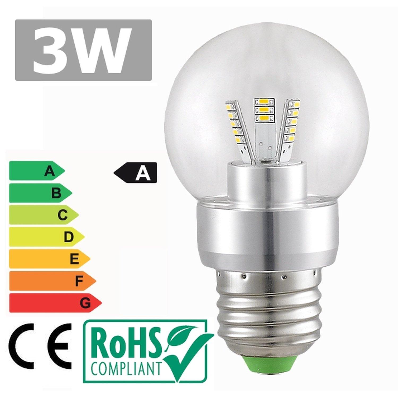 Led bulb E27 3W 6500k 360 ° cold white