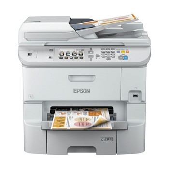 Multifunction Printer Epson WorkForce Pro WF-6590DWF 1200 dpi LAN WIFI Fax White
