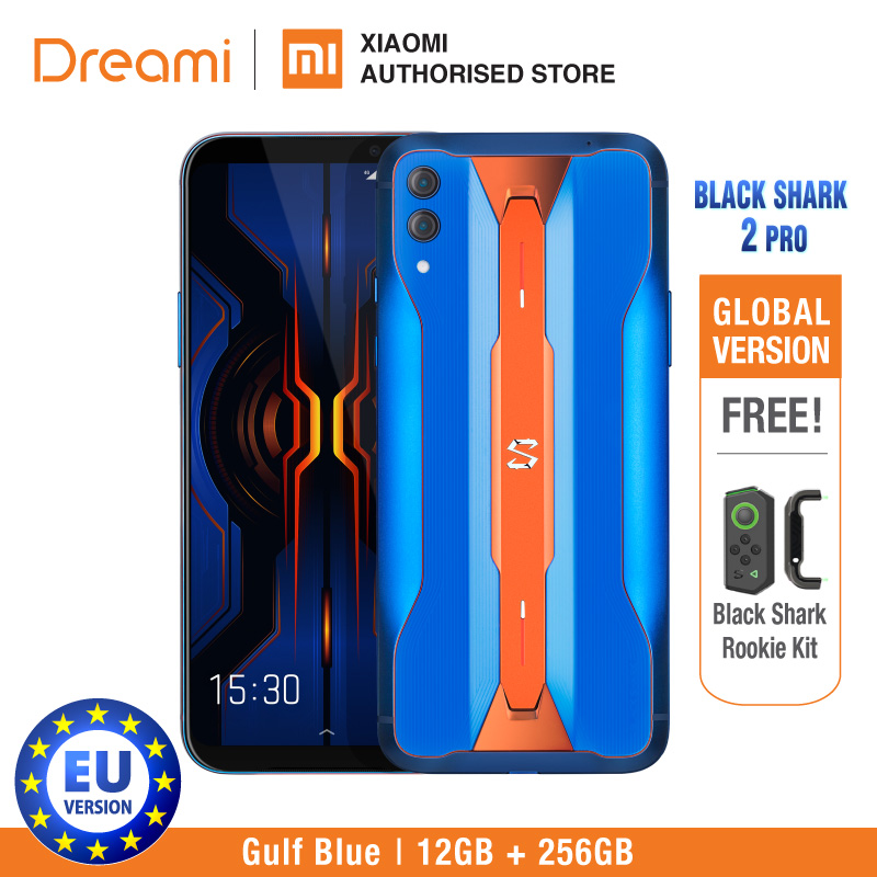 Black Shark 2 PRO 256GB ROM 12GB RAM Shadow Black/Iceberg Grey/Gulf Blue (Brand New And Sealed Box) Blackshark2pro Blackshark