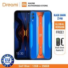 Xiaomi Cá Mập Đen 2 Pro 256GB Rom Ram 12GB Bóng Đen Chơi Game Điện Thoại (Mới) blackshark2pro BlackShark Di Động Smartphone
