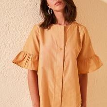 Trendyol Short-Sleeve Shirt TWOSS20GO0301