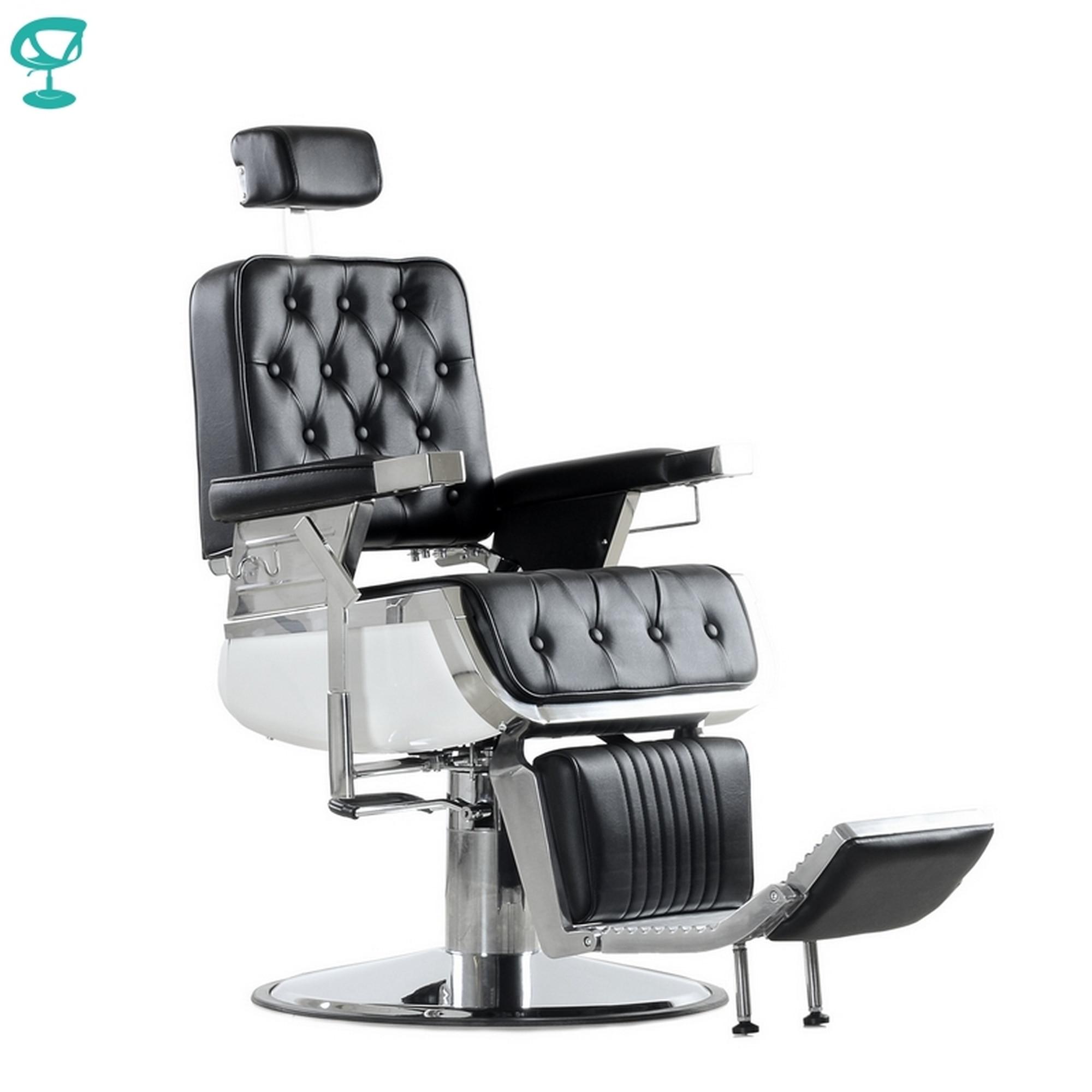 95706 Barneo 31836e Chair барбершопа Black Flip Folding Chair Salon Chair Free Shipping To Russia