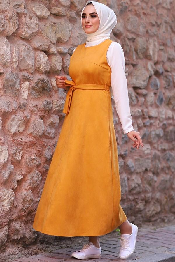 لباس المرأة Women Dress Gilet New Arrival Spring Hijab Islamic Muslim Clothing Long Abaya Femme Musulmane платье Turkey