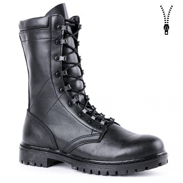 Demiseason Black Ankle Boots With Laces Hiking Climbing Shoes Outdoor Boots Military Man Shoes High Quality 5013/1 WA