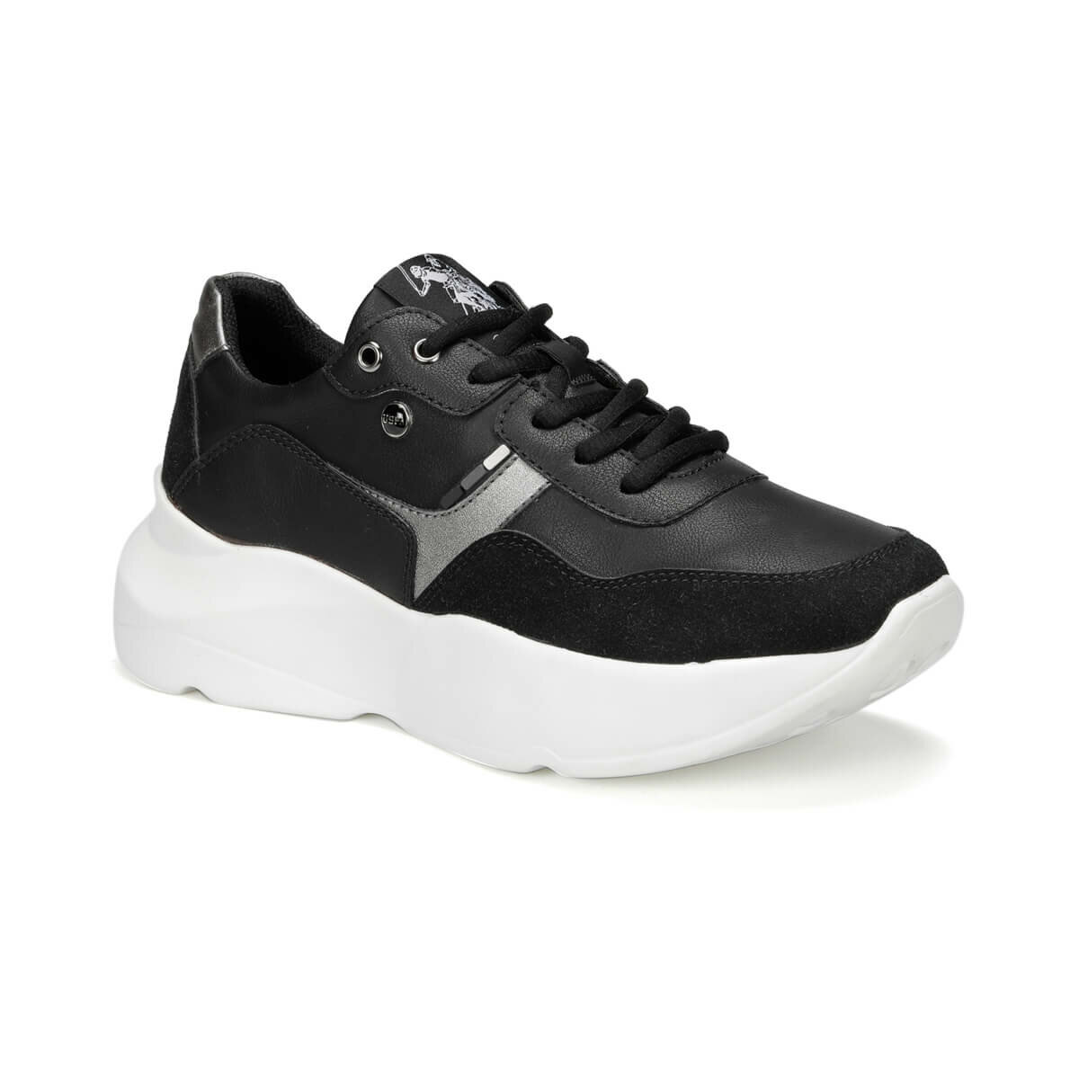 FLO JAILY 9PR Black Women 'S Sneaker Shoes U.S. POLO ASSN.