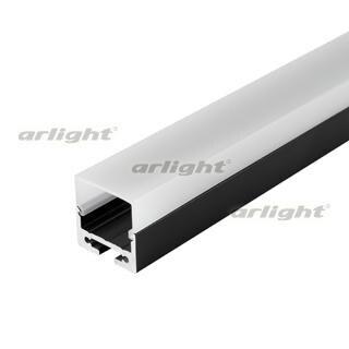027993 Profile Screen SL-LINE-2011M-2500 BLACK + OPAL SQUARE [Aluminum] Box-1 Set. ARLIGHT-LED Profile Led...