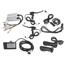 Lcd-Panel-Controller-Kit Scooter-Accessory E-Bike Brushless 36V/48V for 350W/1500W