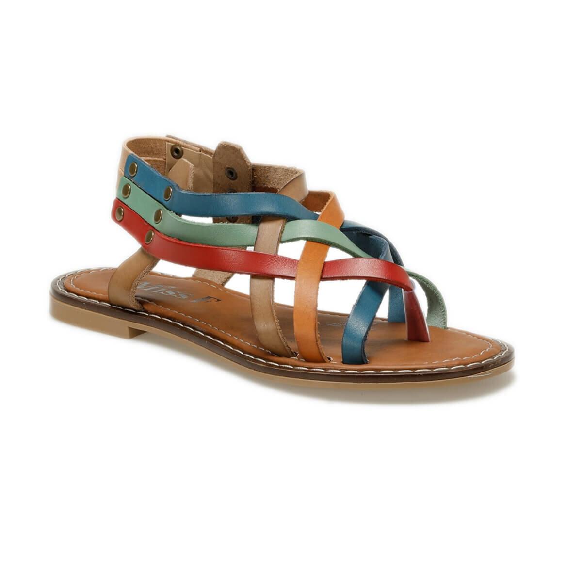 FLO DS18126-19S Multicolour Women 'S Sandals Miss F