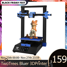 Twotrees 3Dプリンタ青く印刷マスク強化ガラス再開電源障害diyキット温床ブレーク検出MK8 bmg押出機