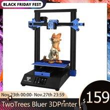 Twotrees 3D מדפסת כחולים יותר הדפסת מסכות מזג זכוכית לחדש הפסקת חשמל DIY ערכת חממה לשבור זיהוי MK8 BMG מכבש