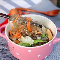 包菜豆腐炖粉条的做法图解9