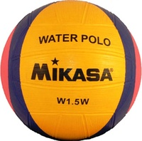 Swimming ball Mikasa w1.5w, orange, blue, pink