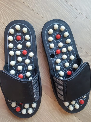 Acupoint Massage Slippers Men/Women Sandals Feet Chinese Acupressure Therapy Medical Rotating Foot Massager Shoes Men's Unisex|Slippers|   - AliExpress