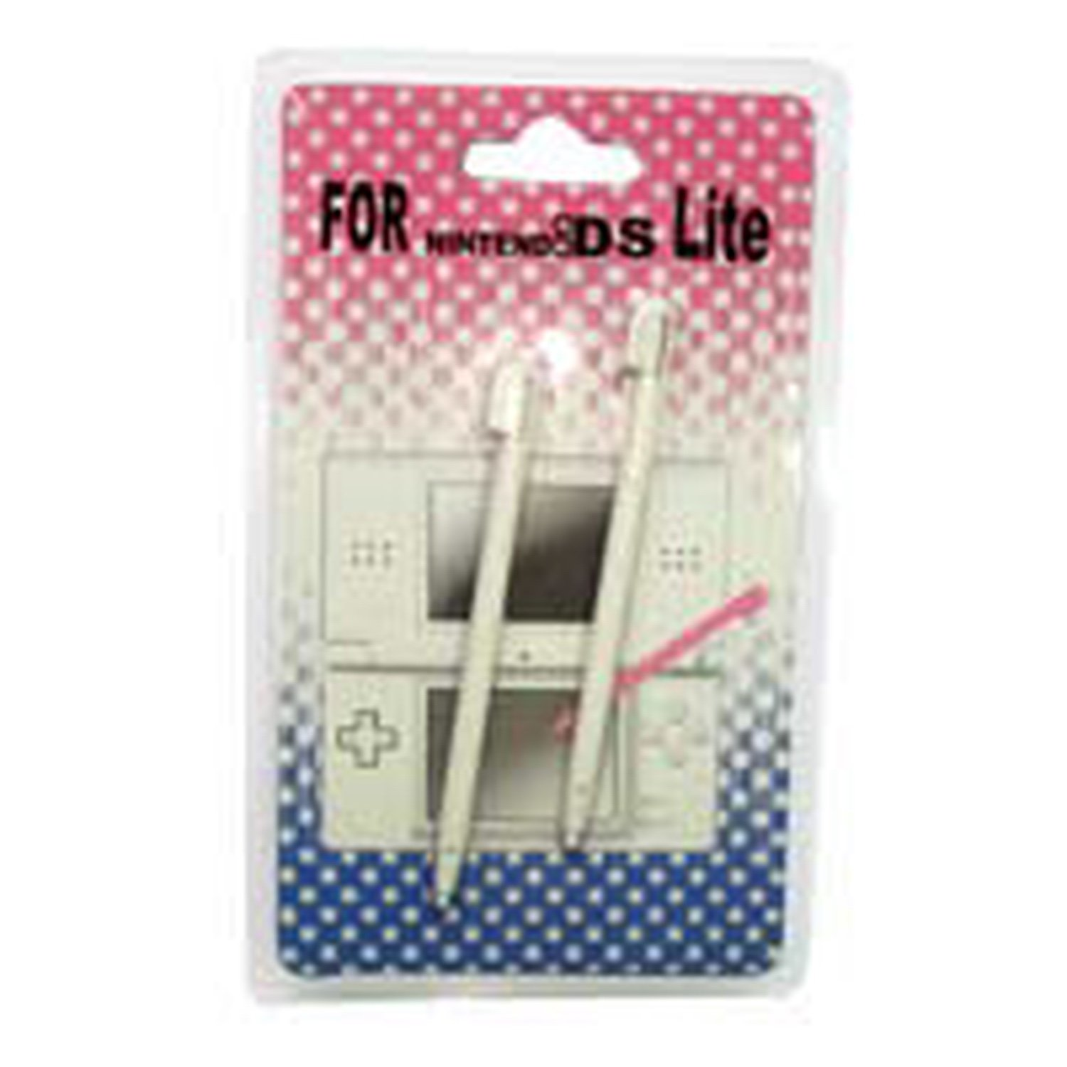 Nintendo DS LITE Stylus Pen retractable 2 pcs WHITE nintendo ds lite stylus pen retractable 2 pcs white