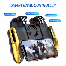 PUBG Game Controller Gamepad Joystick Cooling Fan Charging H