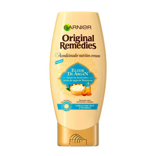 Nourishing Conditioner Elixir De Argán Original Remedies Fructis (250 Ml)