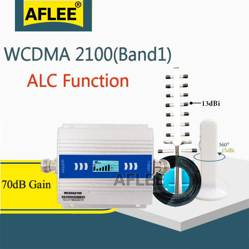 2020 New Upgrade!! 2100Mhz 3G Cellular Amplifier WCDMA 2100 3G Mobile Signal Booster UMTS 2100MHZ GSM Repeater 3G 4G Amplifier