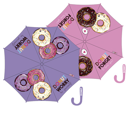 Umbrella Donut Automatic 58/8 Assorted 6Und.