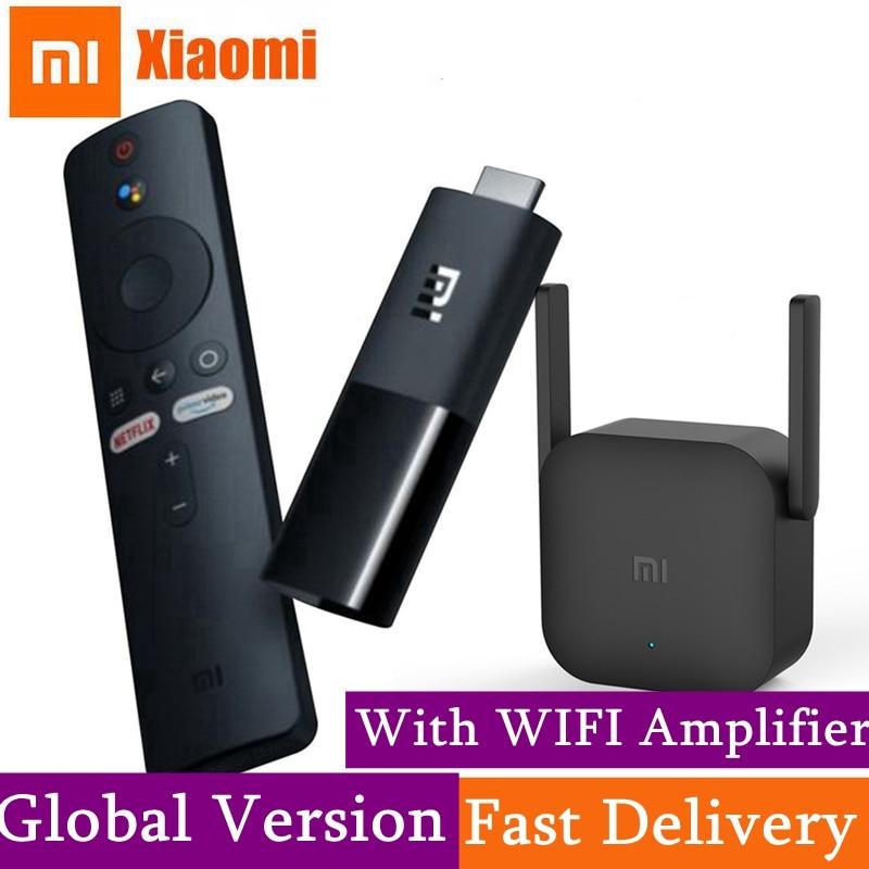 Global Version Xiaomi Mi TV Stick Android TV 9 0 2K HDR DTS HD Dual Decoding 1GB RAM 8GB ROM Google Assistant VS fire tv stick