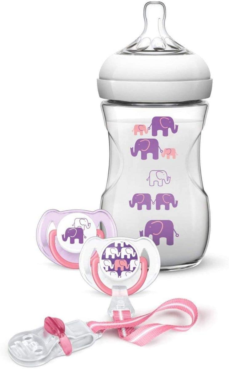 elefante modelada philips avent garrafa dom conjunto masculino famale