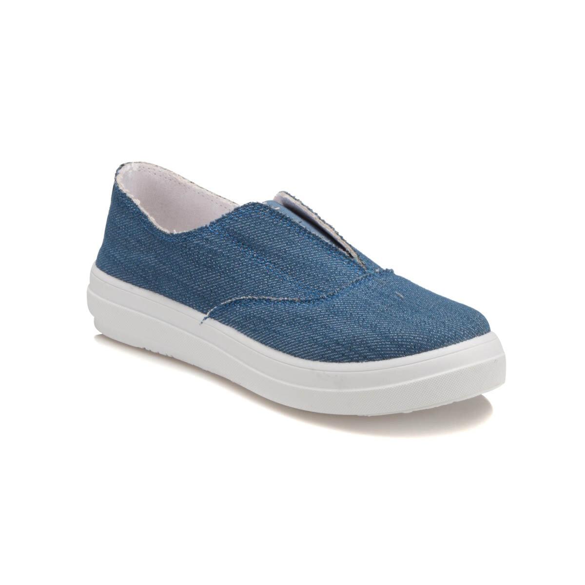 FLO U2503 Indigo Women Slip On Shoes Carmens