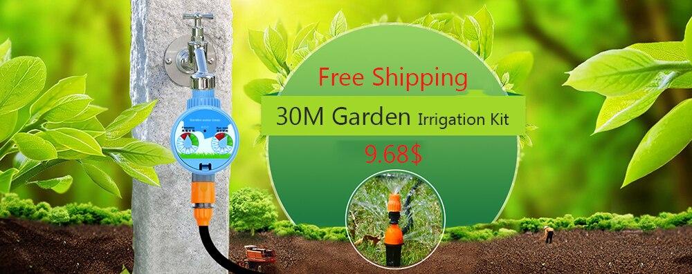U63af3a52b7184401868505479e16c401V Garden Drip irrigation Hose Connector Spray Sprinkler Automatic Irrigation Garden Irrigation System Autowatering