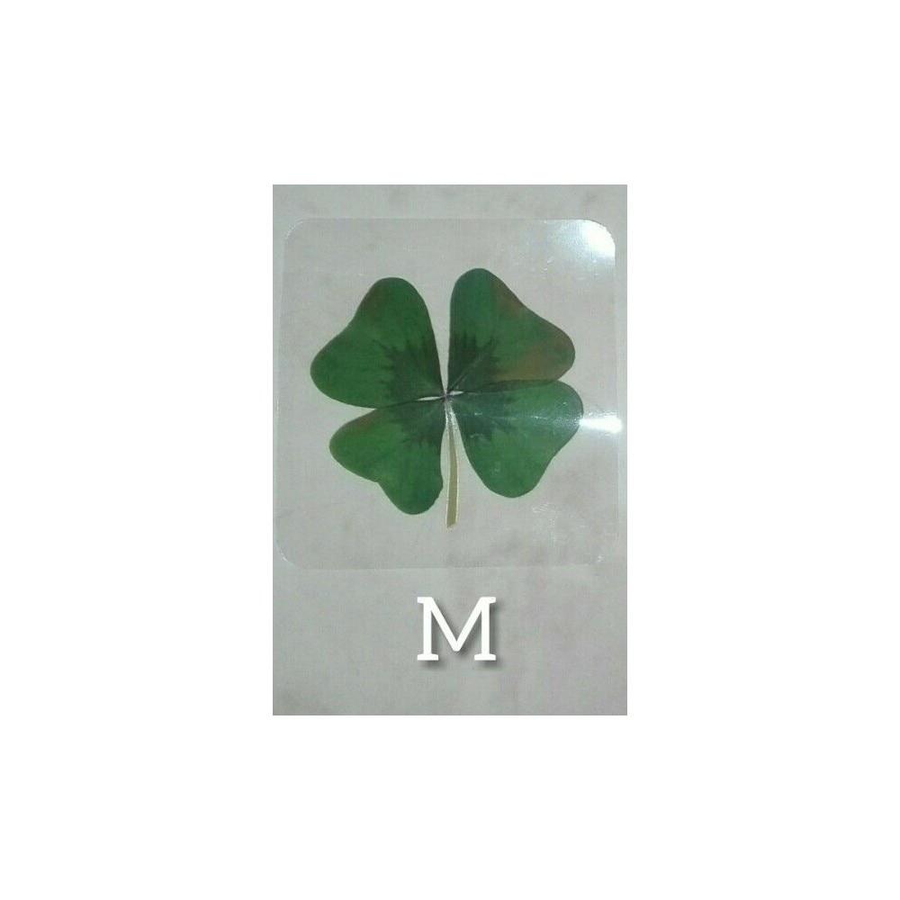 1 Clover Natural plasticized 4 leaf ...