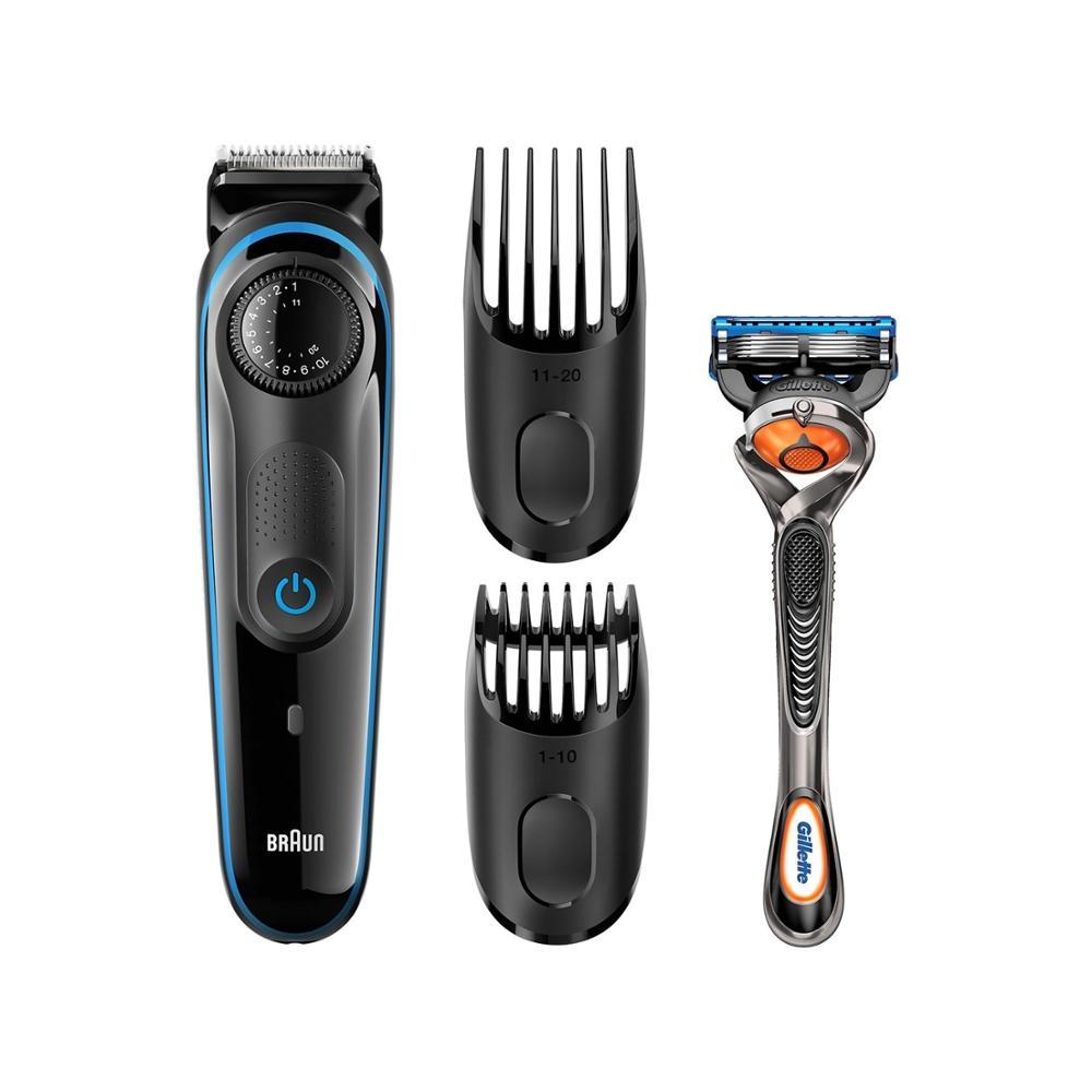 Braun BT3040 Men's Rechargeable Electric Beard Trimmer/Hair Clipper