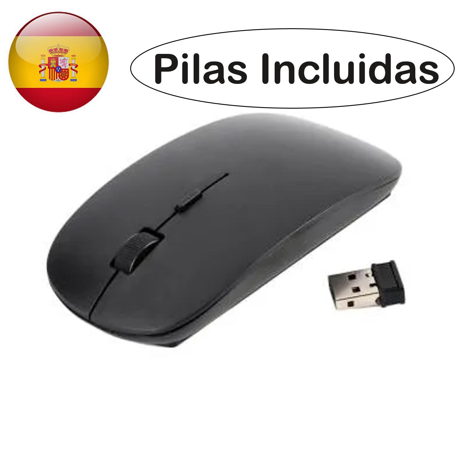 Беспроводной оптический Мышь 1600 Точек на дюйм проводной приемник USB Беспроводной Мышь 2,4 ГГц черный для портативных ПК Windows