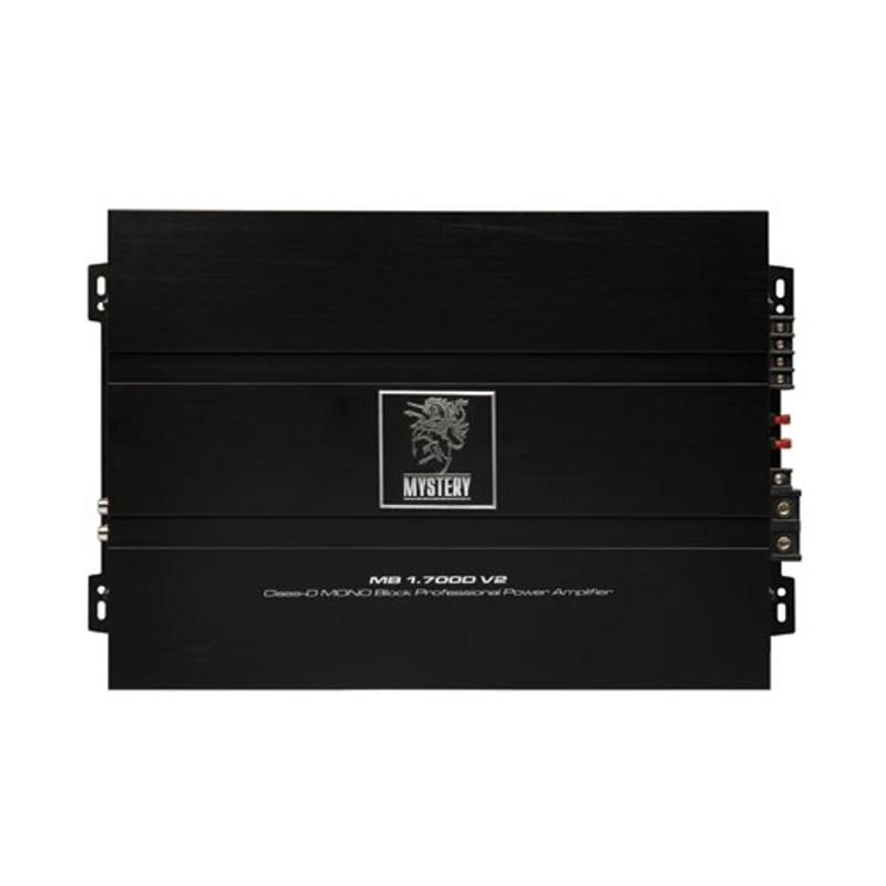 MYSTERY amplifier MB1.700D V2 (3-channel, 1х450 W RMS (4 Ohms) 1х700 (2 1х1000 (Ohm), remote control series