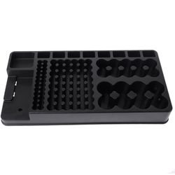 Large Capacity Battery Organizer With Removable BT-168 LCD Tester Storage Case Box Portable For AA AAA D C 9V 1.5V Cell Battery